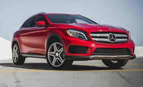 mercedes suv reviews 2015 mercedes gla250 4matic test review car and driver