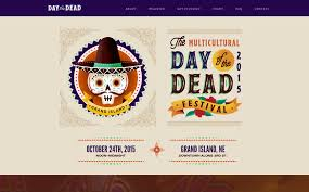 the best designs web design inspiration day of the dead