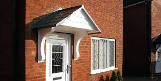 Awning For Back Door Front Doors Winsome Front Door Awnings Wood For Your Home Front