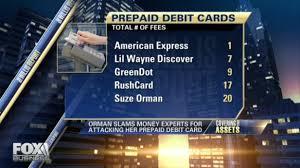 Business Prepaid Debit Card Alternatives To Suze Orman U0027s Prepaid Debit Card Backlash