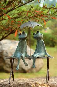 Ceramic Garden Decor 25 Cute And Funny Animal Garden Statues Garden Statues And Gardens