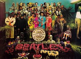 sargeant peppers album cover sgt pepper s lonely hearts club band deskarati