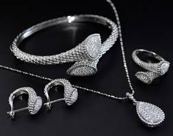 sterling silver necklace set images Ktesios stylish and alluring jewellery items jpg
