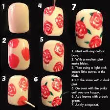 best 25 rose nail art ideas on pinterest rose nail design rose