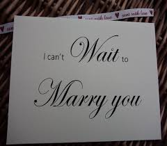 Card From Bride To Groom On Wedding Day I Can U0027t Wait To Marry You Card Wedding Card Wedding Day Card To