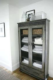 Towel Storage Cabinet Bathroom Towel Cabinet Higrand Co