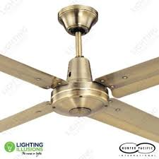 antique brass ceiling fan 52 1320mm typhoon mach 2 antique brass metal ceiling fan