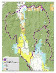 Land Ownership Map Maps Of Former Potlatch Lands In Units 23 And 24 Idaho Fish And Game