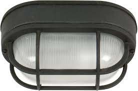 Bulkhead Outdoor Lights Craftmade Z396 05 Bulkhead Matte Black Outdoor Small Flush Mount
