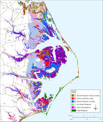 North Carolina Map Sea Level Rise Planning Maps Likelihood Of Shore Protection In