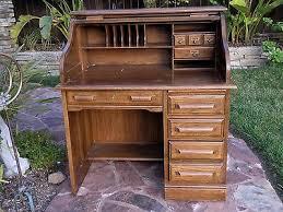 solid oak roll top desk vintage solid oak roll top desk by riverside furniture pick up only