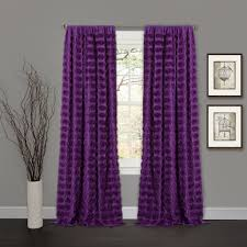 Lavender Blackout Curtains by Emma Window Curtain