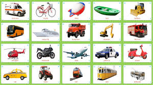 transportation 20 cards flashcards for kids youtube