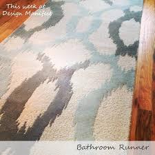 Bathroom Rug Runner Washable Bathroom Runner Bathroom Rugs Size Of Kitchen Bed Bath And