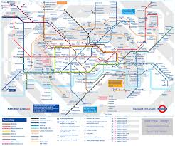 London Metro Map by