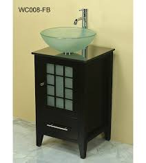 Vessel Sink Vanity  Antique White Bayview Corner Bathroom Sink - Bathroom vanity for vessel sink