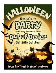 halloween party featuring live music from out of order the old