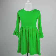 well long sleeves vintage dust kids full length dress frock