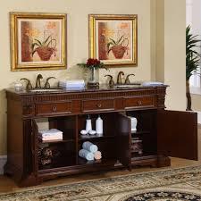 67 Bathroom Vanity by Silkroad Exclusive Ltp 0181 67 Bb Antique Double Sink Bathroom Vanity