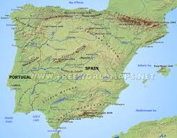 Burgos Spain Map by Iberian Peninsula Map