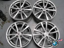 lexus is 250 tire size four 06 08 lexus is250 is350 factory 18 wheels oem rims 74189