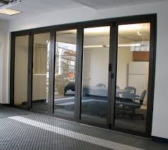 Glass Dividers Interior Design by Interior Pressed Slim Green Glass Partitions From Modern