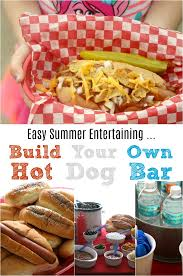 Summer Entertaining How To Create An Easy Dog Bar For Summer Entertaining