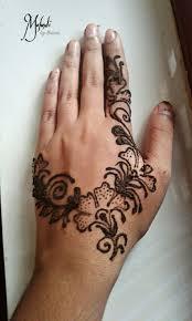 floral henna design 2018 by thasni back design henna
