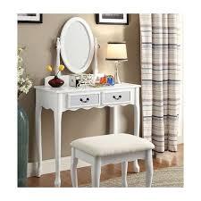 Vanity Furniture Bedroom by Corner Makeup Vanity Making Space For A Vanity In A Small Bedroom