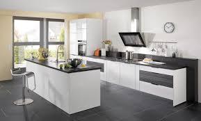 cuisine contemporaine cuisine contemporaine glossy wave idée de décoration cuisine plus