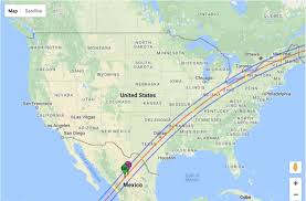 america map for eclipse navigation system total solar eclipse coincidence the joshua aaron