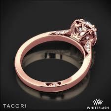 tacori dantela tacori 2620rdsm dantela crown solitaire engagement ring 2718
