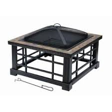 amazon black friday fire pits hampton bay quadripod 26 in round fire pit ft 51161 the home depot