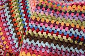 how to crochet a large granny square so it stays square