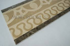 golden beige marble polished yellow marble border tiles