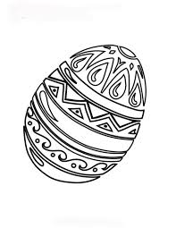 129 easter images egg coloring easter eggs