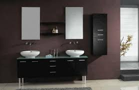 Glass Door Bathroom Cabinet - ideas for bathroom cabinets recessed shelving beside bathtub