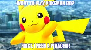 Funny Pikachu Memes - pokemon go imgflip