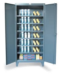 Steel Storage Cabinets Strong Hold Products Metal Bin Storage Cabinet With Vertical
