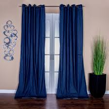 denim curtains with grommets window treatments compare prices