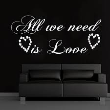 compare prices on home decor hearts online shopping buy low price dctop all we need is love living room removable art wall stickers hearts vinyl self adhesive