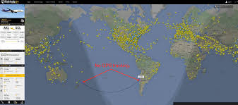 South African Airways Route Map by Flat Earth Theory Debunked By Short Flights Qf27 U0026 Qf28 From