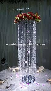 Chandelier Centerpieces Candle Holder Flower Stand Crylic Crystal Chandelier Centerpieces