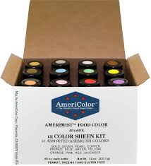amazon com americolor 12 color sheen pearlescent airbrush color
