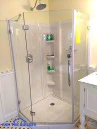 Bathroom Shower Walls Glass Shower Wall Panels Are Sleek Smooth Ask The Builder