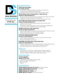 Resume With Community Service Resume Gra 217 Section 5 Group 2