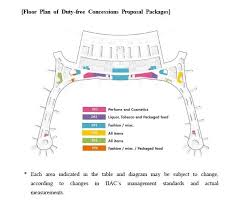Incheon Airport Floor Plan Incheon Airport Names Lotte And Shilla As Preferred Bidders For T2