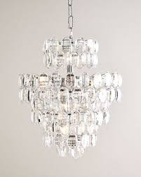 Upside Down Crystal Chandelier Crystal Chandelier Horchow Com
