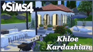 Khloe Kardashian Home by The Sims 4 Khloe Kardashian House Build Part 5 Youtube