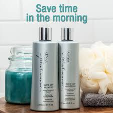 kenra platinum blow dry shampoo and conditioner reduce dry time